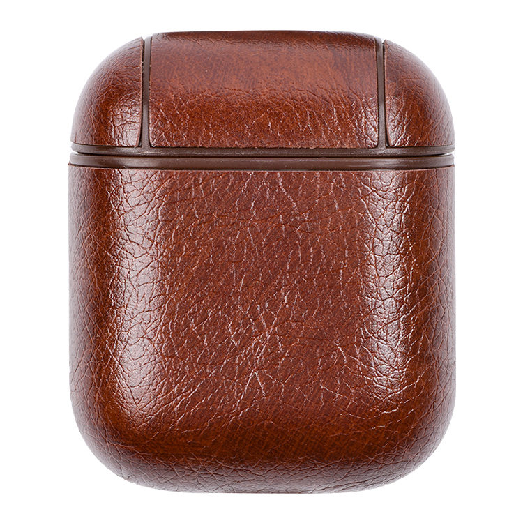 Deluxe Fashion Leather Protective Case For AirPods Charging Case, For Leather Airpod Case
