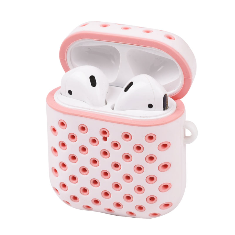 High Quality for Airpods Silicone Case Cover Luxury Protective Skin Compatible for Airpods Charging Case